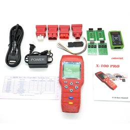 Wholesale Type Key Dodge - OBDSTAR X-100 PRO X100 Pro Auto Key Programmer (C+E) Type for IMMO and OBD Software Function