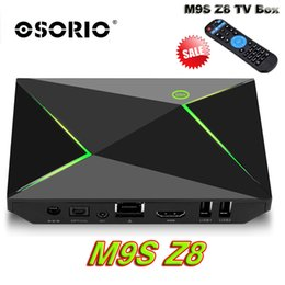 Wholesale Video Streamer - M9S Z8 Android Box Fully Loaded Unlocked S905X 2GB 8GB Smart Streamer Android 6.0 OS BT 2.4 5GHz Wifi 4K Movie video Set Top Box