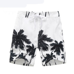 Wholesale Tree Children - Summer Children Board Shorts Boys Casual Swimming Trunks Kids Clothing Fashion Style Quick Drying Liver Short Coconut Trees