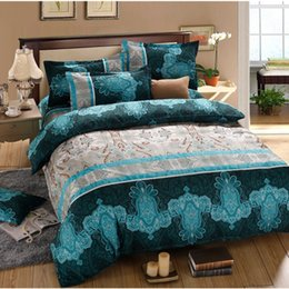 Wholesale Hd Twin - Wholesale- On sale HD 3D wholesale summer style funda nordica Super King size 4 pcs set totoro set bed linen free shipping