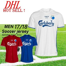Wholesale Thai Wholesale Soccer Shirts - DHL-2017 2018 FC Copenhagen soccer jerseys thai quailty Copenhagen Denmark football shirts home away 3rd shirts