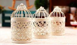 Wholesale Bird Cage Wedding Candle - Bird Cage Decoration Candle Holders Bird Cage Wedding Candlestick