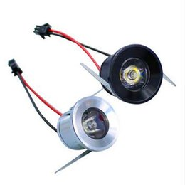 Wholesale Led Light Lamp Jewelry - Wholesale- Mini Led Cabinet Downlight 3W Led Recessed Jewelry Lamps Spot light 5 Colors Include Driver AC85-265V Home Outdoor use