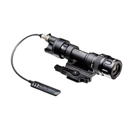 Wholesale Rail Mounted Flashlight - Element Tactical SF M952V LED Flashlight Tactical Lights Gun WeaponLight Light Rail Mounted ( M952V -BK CB) Free Shipping