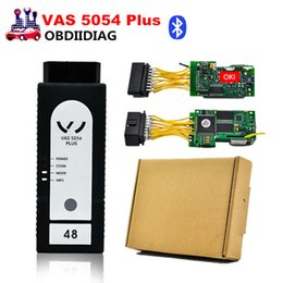 Wholesale Scanner Vas Oki Chip - VAS 5054 Plus with full OKI Chip v3.0.3 ODIS Bluetooth bt Supports UDS Protocol VAS5054 plus scanner