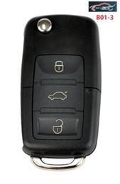 Wholesale Vw Remote Key Button - KEYDIY Original B01-3 3 Button Remote Keys for VW Remote Key URG200 KD900 KD200 Remote Key Folding Key Maker
