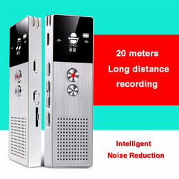 Wholesale New Mini Usb Voice Recorder - New 8GB Mini USB Flash Drive Digital Voice Recorder Stereo 15M Long Distance Recording Dictaphone FM MP3 Music Player Build in Louderspeaker