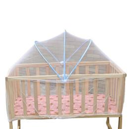 großhandel baby cradles Rabatt Großhandel-Deliacte Universal Babys Wiege Bett Moskitonetze Sommer Safe Moskitonetze für Kinder Jun9 Heißer Verkauf norflr