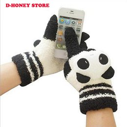 Wholesale Woman Hot Bare - Hot Sale Winter Women student Gloves Touch Screens Gloves Smartphone Christmas Gifts winter neccessity super cute cartoon gloves
