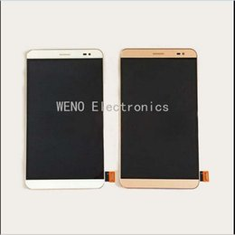 Wholesale Mediapad Digitizer - Wholesale- 1920x1200 Resolution LCD Display Touch Screen Digitizer Assembly For Huawei Honor X2 MediaPad X2 GEM-703L GEM-703LT Repairments