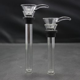 Wholesale Sliding Kits - Glass Replacement Slide for Base Water Pipes Base beakers Come with Two Parts Different Length Glass Bowl Kit