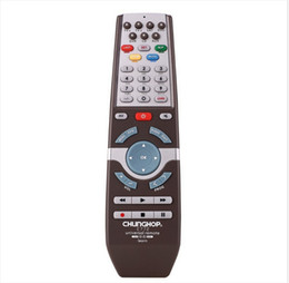 Wholesale Universal Remote Chunghop - Wholesale- 1PCS Chunghop E772 2AAA Combinational remote control learn remote for TV SAT DVD CBL DVB-T AUX universal remote CE 3d Smart TV