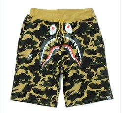 Wholesale Pyrex Kanye - Mens womens Shorts Pyrex version hipa VIRGIL ABLOH Kanye Hip Hop West casual short pants Bboy streetwear