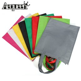 Сумочки из ткани для дизайна онлайн-Wholesale- 2017 Eco Reusable Shopping Bags Cloth Fabric Grocery Packing Recyclable Bag Hight Simple Design Lovely Tote Handbag Fashion