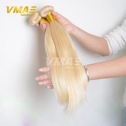 Wholesale Unprocessed Honey - 613 Blonde Virgin Brazillian remy Straight Hair 3 Bundles Honey Blond Brazilian Hair Unprocessed Blonde Virgin human Hair weave