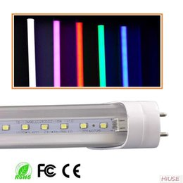 Wholesale T8 Led Tube 24w - Colorful 5ft T8 LED Tube Light 24W Indoor Decoration Light SMD2835 red blue green pink warm nature cool white Direct from China Factory