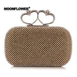 Wholesale Silver Prom Handbags Clutches - 2017 Rhinestone Luxury Clutch Evening Bag Fashion Hand Purse Designer Prom Party Handbags for Women CPA808