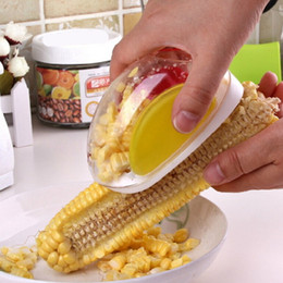Wholesale Magic Corns - Magic Cooking Tools Car Shape Corn Stripper Facilitate Corns Separator Stripped Device Kitchen Accessories Home Gadgets peeler remover