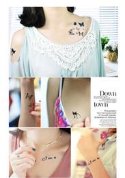 Wholesale Leg Tattoo Male - NEWEST Male and female waterproof sticker tattoo Star Diamond tattoo tattoo stickers