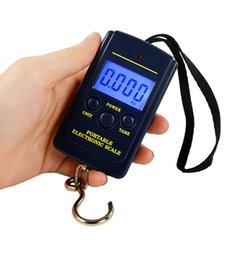 Canada Echelle Ecectronic Portable 40kg / 10g Mini Weight Travel Echelle de bagage Digital Handy Pocket Weight Hook Scale for Fishing Courier Offre