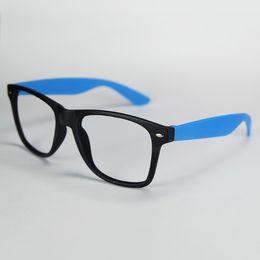 Vente chaude Rétro Lunettes Cadre Oculos Vintage Marque Lunettes Cadre Optique Rivet Parti Lunettes De Sucrerie Couleurs Sans Lentille YC033 ? partir de fabricateur