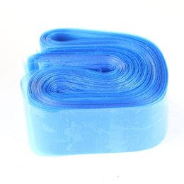 Wholesale Disposable Hygiene Tattoo Clip Cord Bag Plastic Blue Tattoo Machine Clip Cord Sleeve Cover Bag No Box Packaging