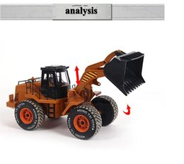 Wholesale Toys Electric Motor Car - brinquedos forklift electric car remote control radio child toy alloy
