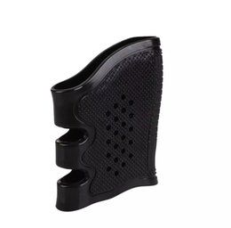 Wholesale Wholesale Glock - 100pcs Universal Handgun Pistol Rubber Protect Cover Grip Glove Tactical Anti Slip Glock holster