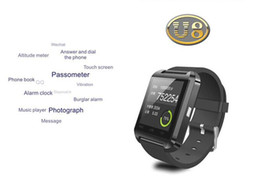 Wholesale German Brand Watches - brand new smart watch cellphone U8 bluetooth cellphone mate 3 colors available