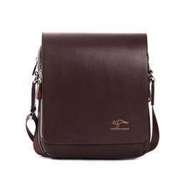 Wholesale Authentic Brand Handbags - Wholesale-Cathylin bolsas femininas men handbags messenger authentic brand composite leather bags casual male shoulder briefcase for man!
