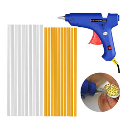 Wholesale Paintless Dent Repair Glue - PDR Tools Dent Removal Paintless Dent Repair Tools Hot Melt Glue Gun Adhesive Glue Sticks Hand Tool Set Instrument Herramentas
