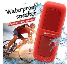 Wholesale Cycling Radio - 2017 Waterproof outdoor cycling sports portable wireless bluetooth speaker bicycle acoustic mountain bike low acoustic belt keychain by dhl