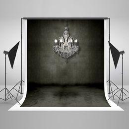 Fondo de la foto de ladrillo online-Kate No Wrinkles Retro Black Brick Wall Photo Studio Fondo Blanco Candelabro Niños Fotografía Telones de fondo
