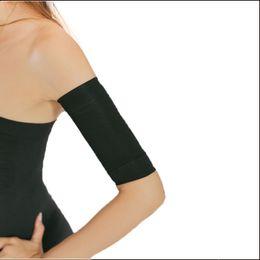 Canada Vente en gros- Black Shapers Femmes minceur poids perte bras shapewear Ceinture plus mince chaud dames bras gros brûleur correcteur d'épaule -C Offre