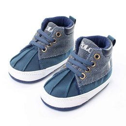 Wholesale First Fold - 2016 Newborn Baby First Walkers Shoes Fold Design Infant Boys Girls Anti-Slippery Toddler Baby Shoes Wholesale Free Shipping