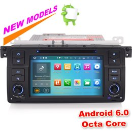 Wholesale Bmw E46 Android - 8-Core Android 6.0.1 Car Stereo GPS Sat Nav BMW E46 M3 Rover 75 MG ZT Wifi DAB+ Mirror Link Radio DTV-in