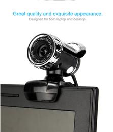 Wholesale Desktop Computers Webcam - Mini Webcam HD 12.0M Pixels Webcam Camera For Laptop Desktop Computer Accessories A859 True Color Images High Quality