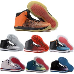 Wholesale Narrow Fabrics - 31 Banned Basketball Shoes Men Women Zoom 31s XXXI CNY Georgetown Gold Red Grey Space Jam Size US 5.5-13