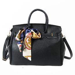 Wholesale Ladies Office Totes - Platinum bag luxury handbags women bags designer top-handle bags famous brand lock bag ladies office shoulder tote bolsas 2016