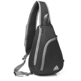 Wholesale Roping Saddles - Sling Shoulder Backpacks Bags Man Women Crossbody Rope Triangle Pack Rucksack Hiking Multipurpose Daypacks And School Handbag