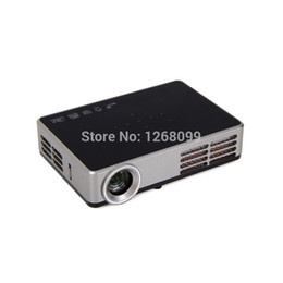 Wholesale Android Advance - Wholesale- 2016 New DLP 5200Lumens WiFi 3D Smart Projector Full HD 1080P Android 4.4 Advanced Home Theater LED Projector