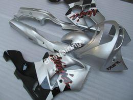 2019 обтекатель для 94 zx6r Обтекатель мотоцикла для Kawasaki Ninja ZX6R 1994-1997 серебряный черный обтекатель ZX6R 94 95 96 97 OT02 дешево обтекатель для 94 zx6r