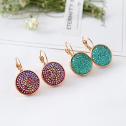 Wholesale Tungsten Wear Plates - Girls exclusive fashion stars all over the sky star ear clip double color rose gold ear clip fashion wear jewelry club party