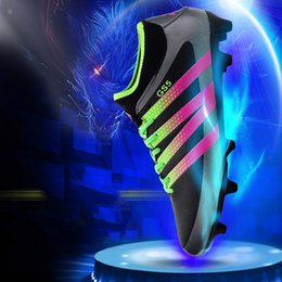 Wholesale Spike School - New fashion youth professional spike football shoes, the popular school students professional shoes, high quality outdoor sports shoes for m
