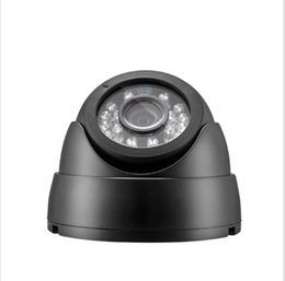 Wholesale Ir Led Array Camera - Secuplug 1.3MP HD 960P CCTV AHD Camera 24 Array LED IR Dome Camera Night Vision Mini Dome Camera free shipping Simple installation