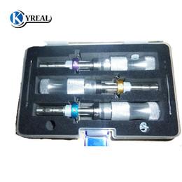 HUK 3pcs / set 7 Pin Advanced Tubular Lock Pick 7.0 mm, 7.5 mm, 7.8 mm удлиненные открытые слесарные инструменты Бесплатная доставка от