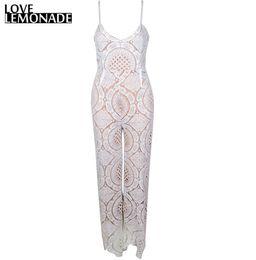 Wholesale Love Harness - Wholesale- Love&Lemonade White Flower Lace V-Neck Harness Playsuit TB 8538