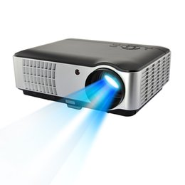 Wholesale Data Show - Wholesale- RD-806 LED Projector 2*HDMI 2*USB Home Projector 1080P Mini Proyectores Video HDMI 2800Lumens Support 200inch Data Show
