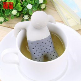 Wholesale Teabag Strainer - YGS-Y051 2016 new Teapot Cute Tea Strainer 1 pc Silicone Tea Infuser Spice Filter Tool Teapot Teabags for Tea & Coffee Drinkware