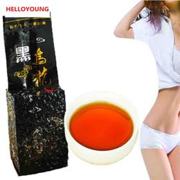 Wholesale Fat Burning - C-WL001 Fast Loss 250g Black Oolong Slimming Tea Oil Cut Black Oolong Products Burn Fat baked tieguanyin